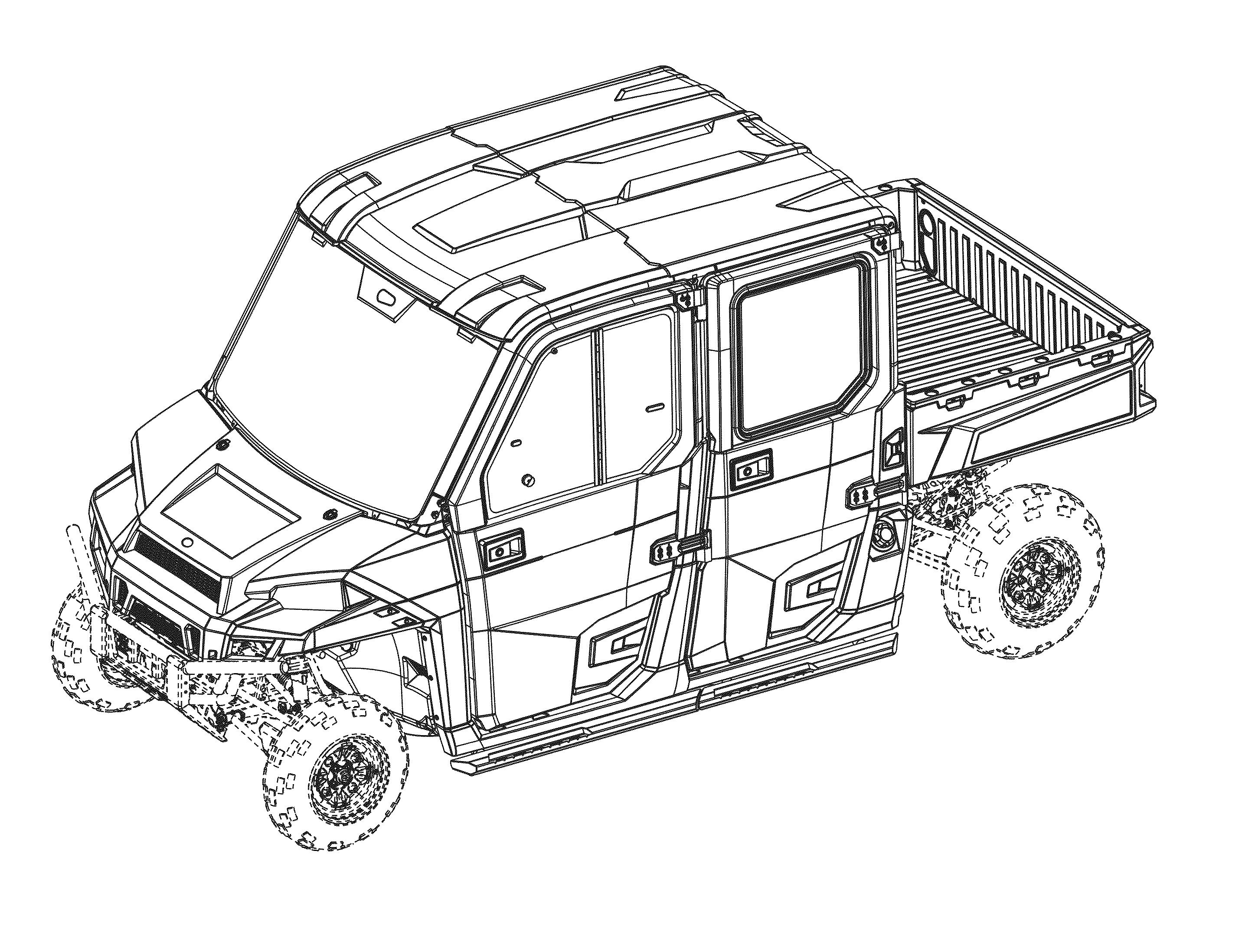"US-D764972-S1 ""Utility Vehicle"" Polaris Industries Inc"