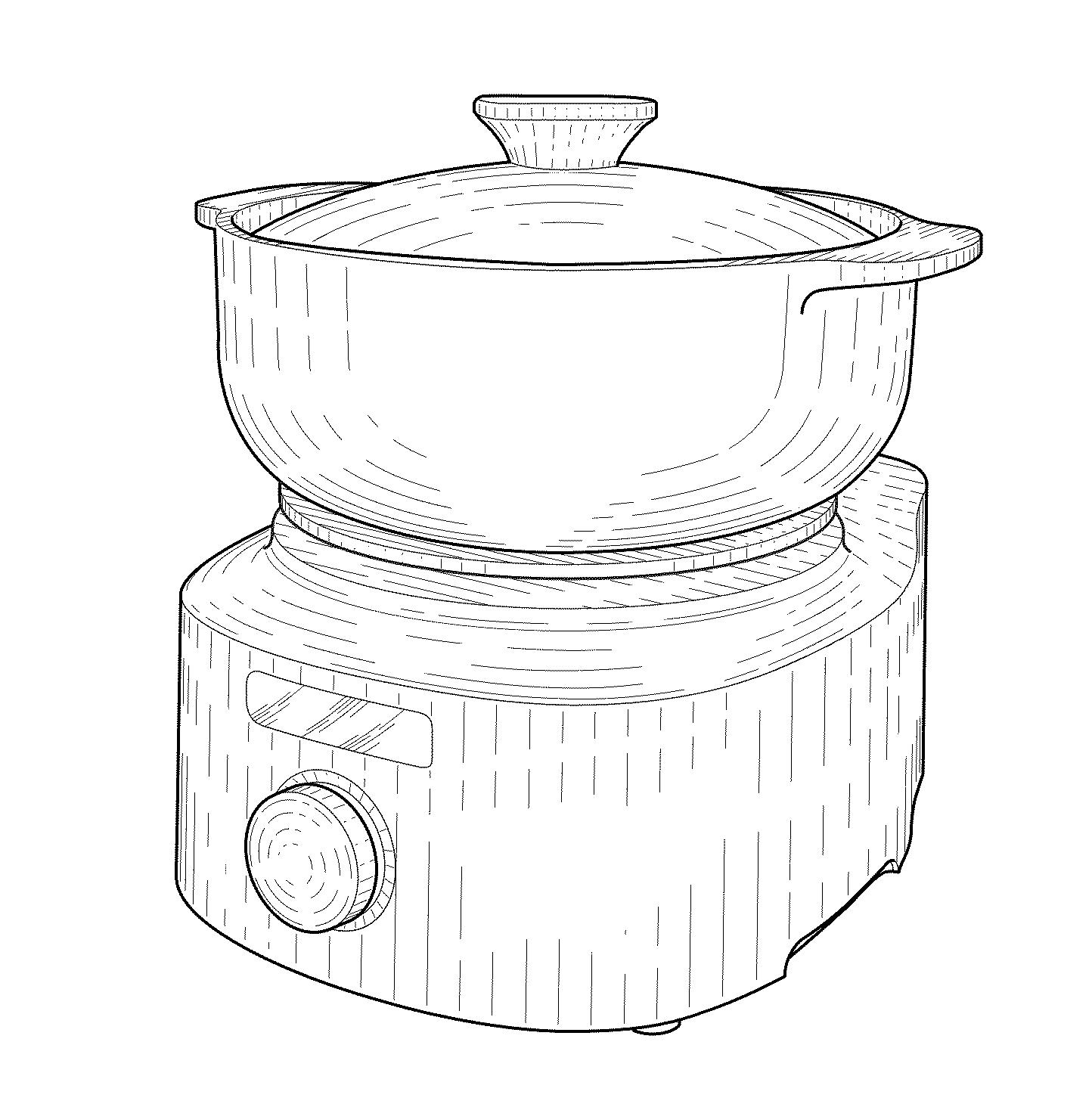 """US-D764856-S1 """"Slow cooker"""" Koninklijke Philips NV"""