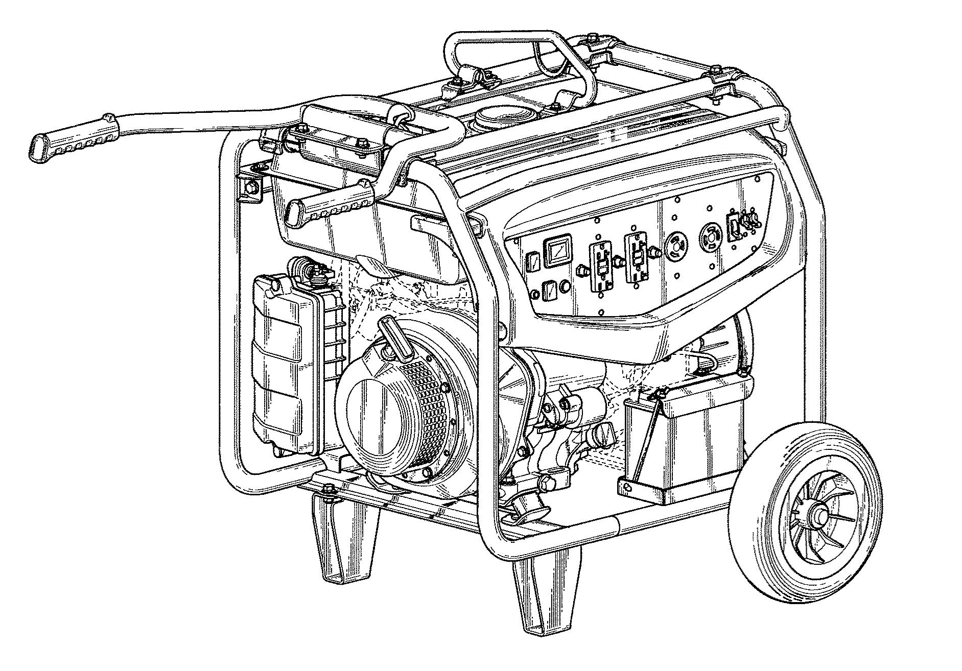 "US-D746229-S1 ""Engine generator"" Yamaha Motor Power Products Co Ltd"